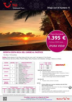 Oferta Costa Rica del Caribe al Pacífico. Precio final desde 1.395€ - http://zocotours.com/oferta-costa-rica-del-caribe-al-pacifico-precio-final-desde-1-395e-3/