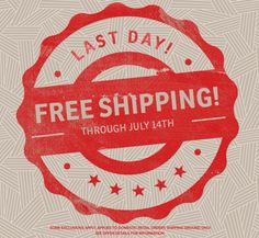 Free Shipping On All Orders At GreenBox Art – LAST DAY!