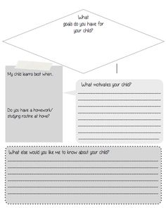 """Included in this zip file are: An """"Involve-Mint"""" sign to display Parent Sign-In Sheet Parent Questionnaire This is geared towards middle school open houses, but could be used for any grade! Back To School Gifts, First Day Of School, School Days, Middle School, Parent Questionnaire, First Day Activities, 6th Grade Ela, School Opening, Parent Communication"""