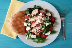 Fuji Apple Chicken Salad Panera Bread Copycat Recipe | Peanut Butter and Peppers