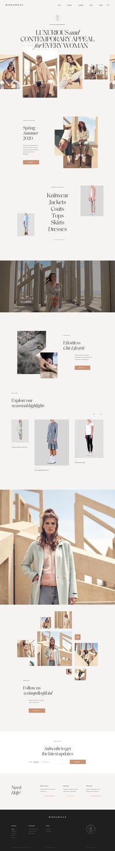 Rino & Pelle landing page design inspiration - Lapa Ninja Web Design Trends, Best Web Design, Ad Design, Layout Design, Graphic Design, Website Design Inspiration, Beautiful Website Design, Landing Page Inspiration, Website Layout
