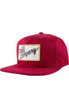 Neff Headwear Company Co. Cap Snapback Hat Adjustable with Flat Visor Patch Logo #Neff #BaseballCap