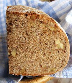 Rozskenyér pirított dióval élesztős Banana Bread, Paleo, Food, Essen, Beach Wrap, Meals, Yemek, Eten, Paleo Food