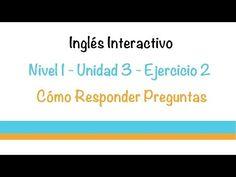 Aprender Ingles - Ejercicio (Responder Preguntas) - YouTube