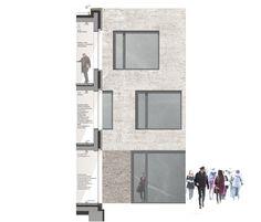 ein 1. Preis: 1. Preis, 1. Rang bodensteinerfest Fassadenschnitt, © bodensteinerfest