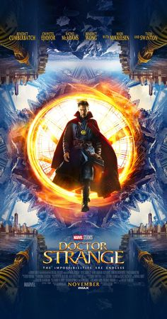 Directed by Scott Derrickson.  With Benedict Cumberbatch, Chiwetel Ejiofor, Rachel McAdams, Benedict Wong. A former neurosurgeon embarks on a journey of healing only to be drawn into the world of the mystic arts.
