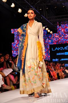 Gaurang Shah's Tree of Life Collection {Lakme Fashion Week - The Big Fat Indian Wedding Pakistan Fashion, India Fashion, Women's Fashion, Fashion Styles, Indian Wedding Outfits, Indian Outfits, Indian Clothes, Long Anarkali Gown, Anarkali Suits