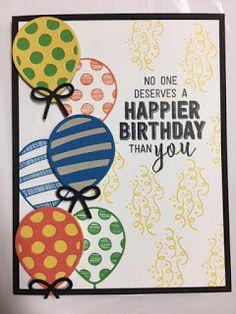 My Creative Corner!: Balloon Adventures, Balloon Pop-up Thinlits, Birthday Card, Stampin' Up!, Rubber Stamping, Handmade Cards.
