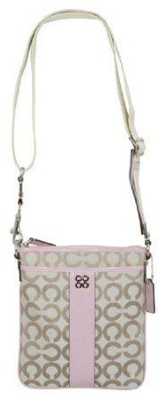 !@Best Buy Coach Julia Spotlight Op Art Signature Swingpack Bag Sweetheart    Price: $138.00    .Check Price >> http://loanoneday.com/sale/landingpage.php?asin=B007VD82J0