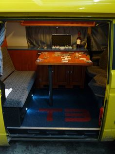 31 Volkswagen, Poker Table, Caravan, Furniture, Home Decor, Decoration Home, Poker Table Top, Room Decor, Home Furnishings