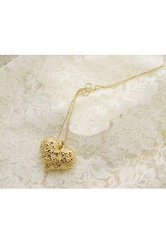 pretty heart pendant