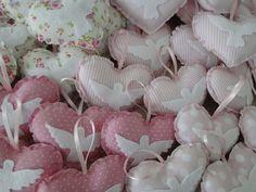 SOUVENIR DE BATISMO - Coração com aplicação | Flickr - Photo Sharing!