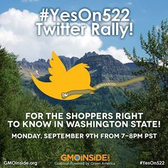 Join us for tonight for a #Yeson522 twitter rally to discuss I-522. Please share and join under #Yeson522. https://www.facebook.com/GmoInside