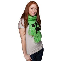 Minecraft - Creeper Scarf #minecraft #creeper #scarf #winter