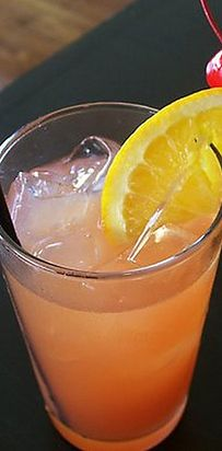The Zombie (The Walking Dead) | Get Drunk Every Day Of The Week With These Fall TV Themed Cocktails | 1/2 oz Bacardi 151 rum 1 oz pineapple juice 1 oz orange juice 1/2 oz apricot brandy 1 tsp sugar 2 oz light rum 1 oz dark rum 1 oz lime juice Protip: Drink every time Daryl's a BAMF.