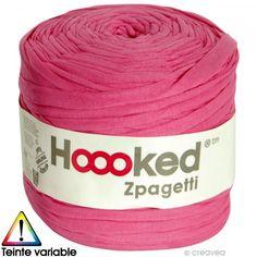 Zpagetti Hoooked DMC - Ovillo Jersey Fucsia - 120 metros - Fotografía n°1