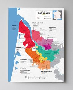 Bordeaux–the eponymous blend Bordeaux is the criterion for the famous namesake blend, a mixture of primarily Cabernet Sauvignon, Merlot and Cabernet Franc. The region has dedicated itself to continual