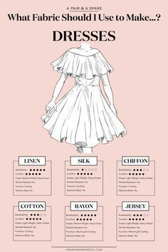 What Fabric Should I Use To Make Dresses?