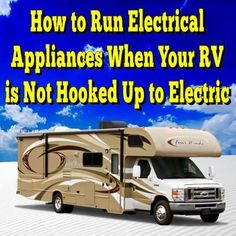 How to Run Electrical Appliances When Your RV is Not Hooked Up to Electric... Read More: http://www.everything-about-rving.com/electric-outlets-in-my-rv-only-work-on-110-volt-house-current-but-not-on-12-volt.html #powerinverter #GoRVing #FindYourAWAY #RVlife #RVing #RV #RVs #RVers #Wanderlust #Explore #Adventure #Nature #RVLiving #CampLife #FullTimeRVer #Roadtrip #Travel #RVsofAmerica #HomeIsWhereYouParkIt #Camping #RVPark #Hiking #MotorHome #MotorHomes #TravelTrailer #NatureLovers…