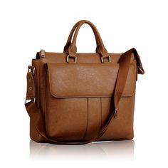 Unisex Tan Laptop Bag Laptop Bag, Messenger Bag, Satchel, Unisex, Handbags, Women, Fashion, Totes, Moda