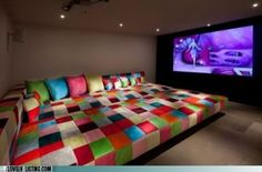 cozy tv corner