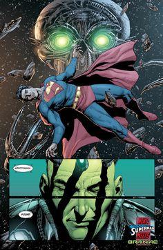 Superman Brainiac by Gary Frank Superman Art, Superman Family, Superman Man Of Steel, Batman, Action Comics 1, Marvel Comics, Marvel Dc, Rockabilly Artwork, Dc Comics Characters