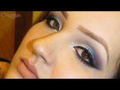 Tutorial de maquiagem inspirada em Linda Hallberg