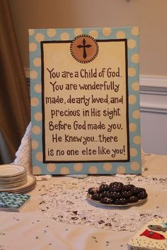 You are a child of God, wonderfully made, dearly loved, and precious in His sight. There is no one like you!
