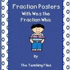 This is a 4 page packet which contains a cover page, a page of information for the teacher and 2 colorful posters showing equivalence of fraction t...