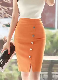 Unique Skirts Design Ideas For Stylish Work Outfits, Work Casual, Classy Outfits, Chic Outfits, Summer Outfits, Urban Apparel, Work Fashion, Women's Fashion, Feminine Fashion