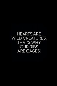 Ribs Are Cages …