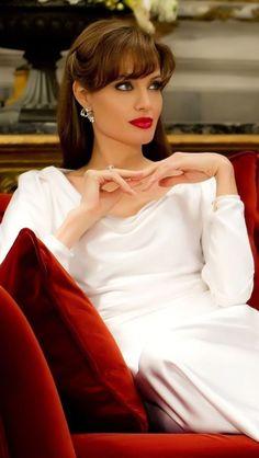 Elegance ~ Angelina Jolie. You Can Do It 2. http://www.zazzle.com/posters?rf=238594074174686702