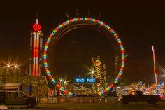 Ring of Fire  #RingOfFire #Carnival #Fair #Faire #Ride #Amusement #AmusementRide #Joy #Fun #HDR #Light #Dark #Rides #Fairs #Pennsylvania #WestChesterPA