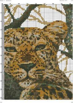 Dragon Cross Stitch, Cross Stitch Animals, Cross Stitch Needles, Cross Stitch Patterns, Knitting Charts, Crossstitch, Big Cats, Cross Stitching, Remedies
