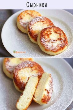 Healthy Breakfast Muffins, Breakfast Recipes, Dessert Recipes, Russian Desserts, Russian Recipes, Healthy Egg Recipes, Cooking Recipes, Georgian Cuisine, Cottage Cheese Recipes
