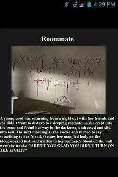 Creepy story