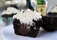 Irish Car Bomb Cupcakes-had these tonite and they were the best cupcake ever eaten! Love it!