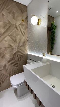 Washroom Design, Bathroom Design Luxury, Modern Bathroom Design, Modern Toilet Design, Toilet Tiles Design, Toilet And Bathroom Design, Small Toilet Design, Modern Luxury Bathroom, Minimalist Bathroom Design