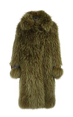 Oversized Fur Coat by Burberry   Moda Operandi