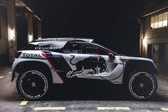 Découvrez en exclusivité la nouvelle 3008 DKR du Team Peugeot Total pour le rallye raid Dakar 2017.