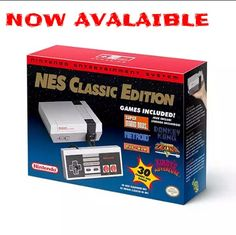 NES Classic Edition Back In Stock At ThinkGeek