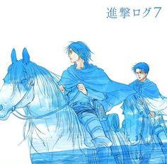 Eren and Levi | Shingeki no Kyojin