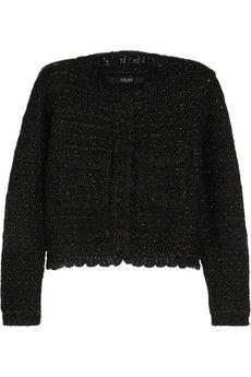 Sibling Metallic wool-blend bouclé jacket   NET-A-PORTER