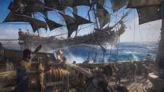 Skull & Bones on PS4, Xbox One, PC | Ubisoft (US) Sea Pirates, Pirates Of The Caribbean, Original Wallpaper, Hd Wallpaper, Wallpapers, Xbox One, 4k Pictures, Vikings, Holland