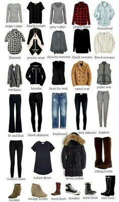 Winter capsule Winter Wardrobe Essentials 0510a32ca88c