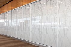 Northern Exposure @ Duluth International | Forms+Surfaces Northern Exposure, Glass Installation, International Airport, Office Interiors, Facade, Duluth Minnesota, Interior Design, Architecture, Frosting
