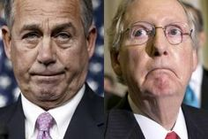 GOP's broken promises: Gridlock & dysfunction still rule the day despite congressional control. The problem is the GOP is a dying soon to be extinct dinosaur run by desperate lying fools !