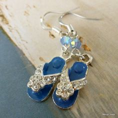 To the Beach Flip Flop Earrings