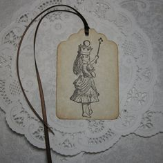 Alice in Wonderland Tags / Gift Tags / Party by FyreflyHollow