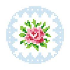 Схемы для вышитых на канве брошек | biser.info - всё о бисере и бисерном творчестве
